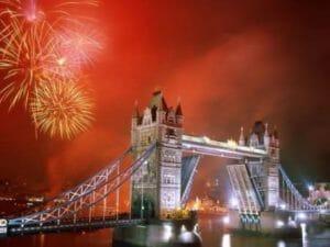 Il capodanno a Londra