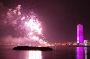 Capodanno a Rimini: fuochi sul lungomare