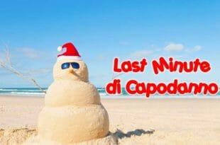 In spiaggia per Natale e capodanno!