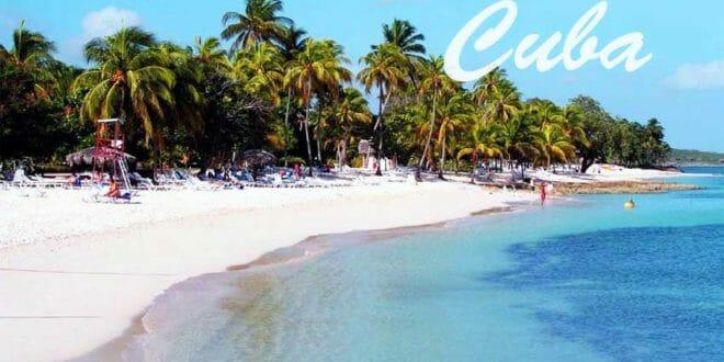 Una delle famose spiagge di Cuba per capodanno