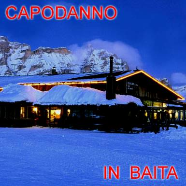 Capodanno in baita rifugio in montagna proposte e for Piccoli disegni di baite di montagna