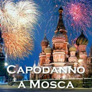 capodanno a Mosca in Russia