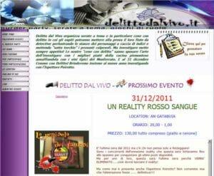 Capodanno con delitto 2012 Piemonte
