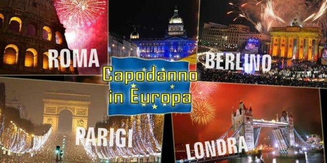 Guide per festeggiare il capodanno in Europa