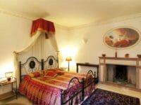 Una delle suite del Assisi Wellness