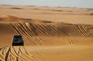 Capodanno nel deserto Sahara