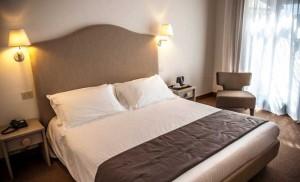 Una camera dell'hotel Terre di Casole a Casole d'Elsa