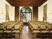 Sala meeting dell'hotel Villa Michelangelo a Vicenza