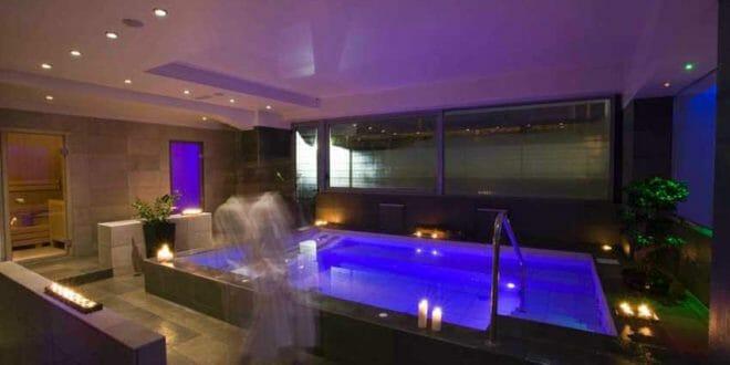 Rimini: area wellness dell'hotel Alisei