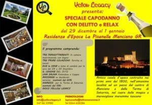 Il programma del capodanno con delitto di Yellow Legacy