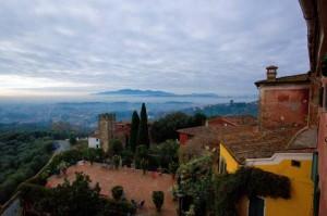 Villa Sermolli: il panorama