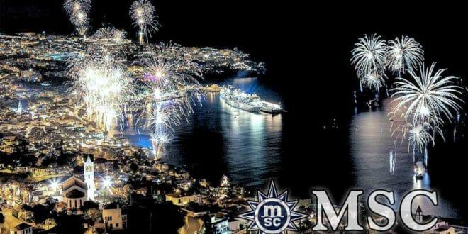 I famosi fuochi di capodanno a Funchal, Madeira