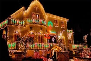 Le incredibili luminarie di Natale di New Yor
