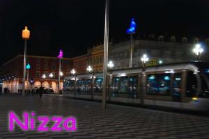A Nizza il capodanno si festeggia nella colorata piazza Massena