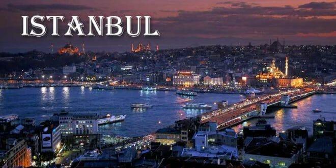 Istanbul la sera di capodanno