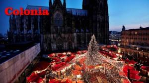 Il grande mercatino di Natale di Colonia (Germania)