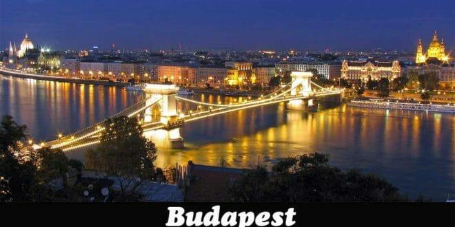 Budapest illuminata per capodanno
