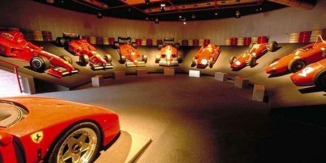 Capodanno a Vignola, museo Ferrari