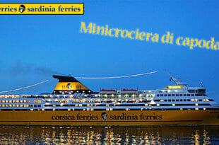 Minicrociera di capodanno Corsica Ferries
