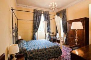 Una suite del Castello Montegiove