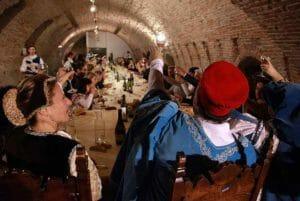Il banchetto medievale al Castello Estense di Ferrara