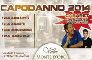 capodanno 2014 a Villa Monte d'Oro