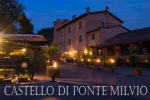 Roma: castello di Ponte Milvio
