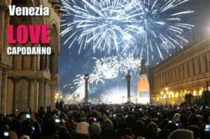 Venezia: evento LOVE di capodanno