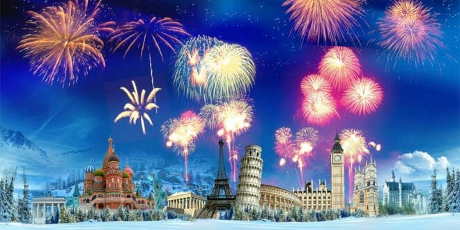 Capodanno nelle capitali Europee