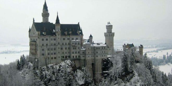 Capodanno al castello di Neuschwanstein