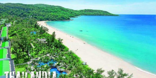 Capodanno in Thailandia, una spiaggia