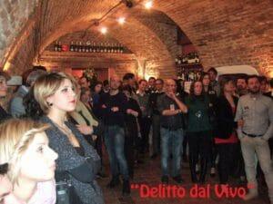 I partecipanti alla scorsa Cena con Delitto di capodanno, in Piemonte