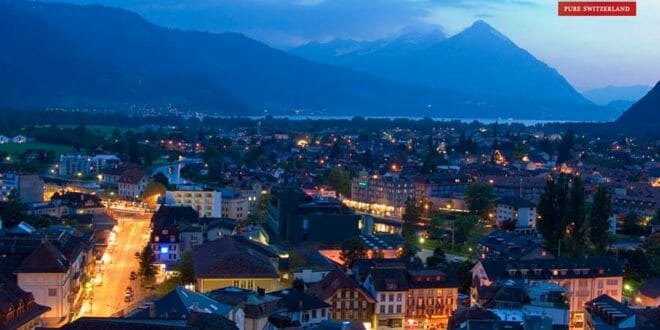 capodanno a Interlaken in Svizzera