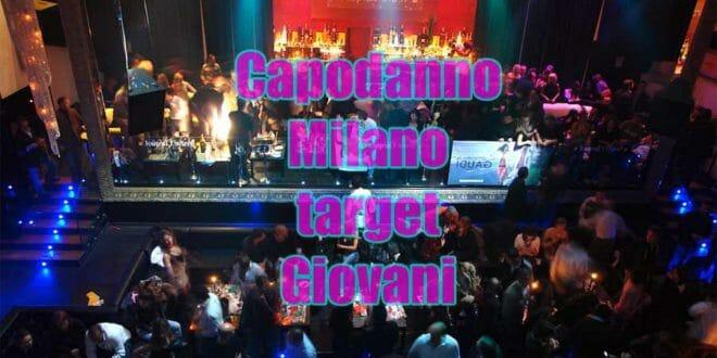 Capodanno a Milano: target giovani