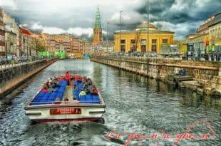 I tipici canali di Copenaghen