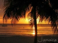 Un tramonto a Negril, in Jamaica