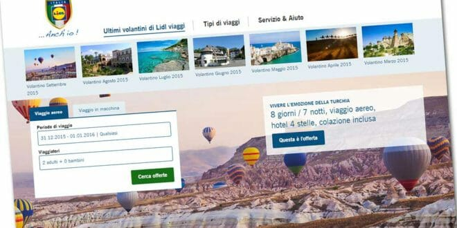 Offerte di viaggi di capodanno su LIDL