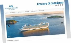 Princess Cruises per capodanno