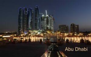 Capodanno ad Abu Dhabi: lo skyline