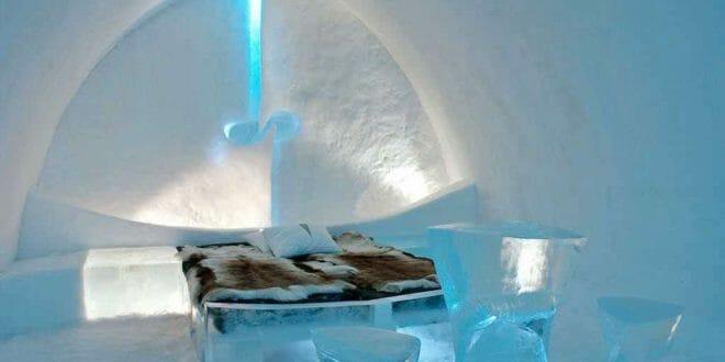 Capodanno in un hotel di ghiaccio