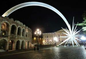 Capodanno a Verona, l'arena
