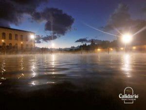 Capodanno al Calidario, lago caldo