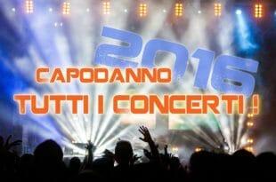 Elenco concerti di Capodanno 2016
