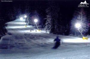 Sci in notturna a San Martino di Castrozza