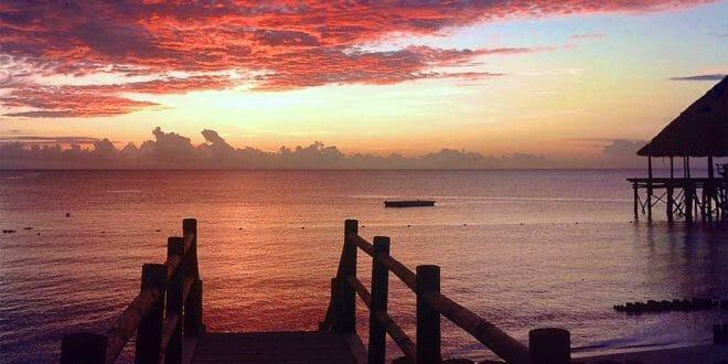 Capodanno a Zanzibar: tramonto