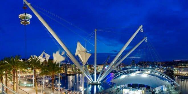 Capodanno a Genova: l'area del porto