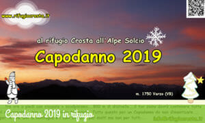 Capodanno al Rifugio Piero Crosta