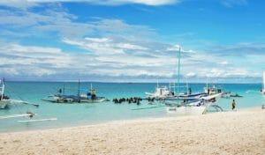 Mare per capodanno alle Filippine