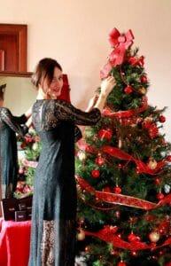 Vestiti capodanno: cena in casa