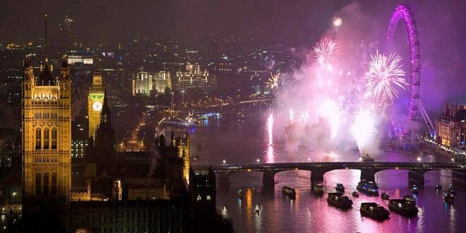Capodanno a Londra: London Eye